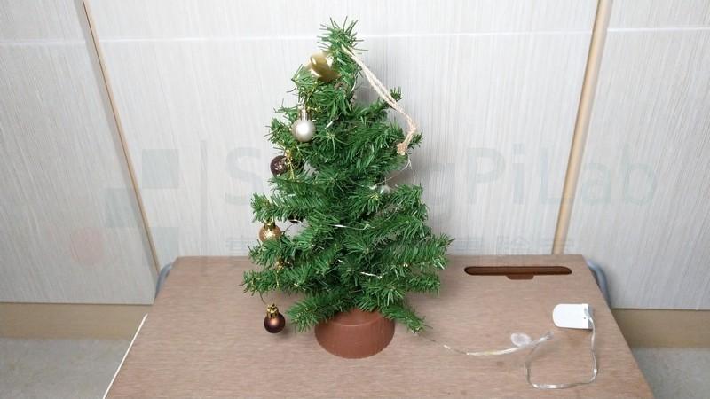 聖誕樹LED 不亮了