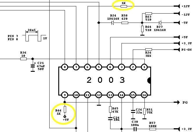 電源供應器 控制IC的周圍電路
