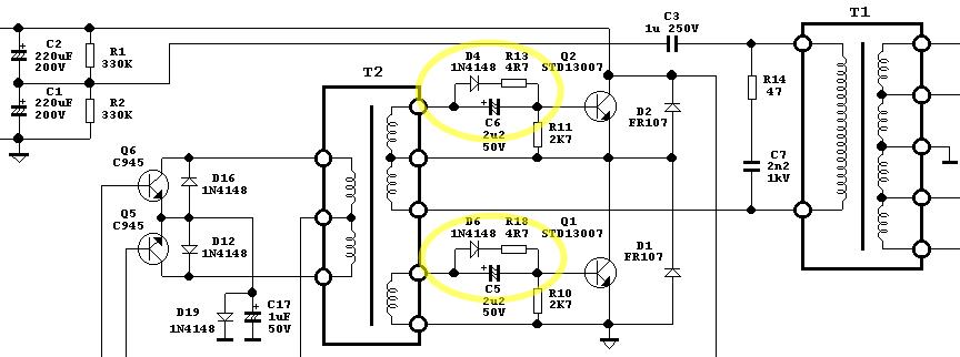 電源供應器 的主要驅動線路