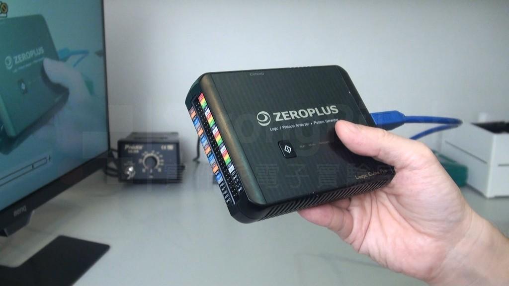 觀察 HDMI螢幕 訊號的邏輯分析儀