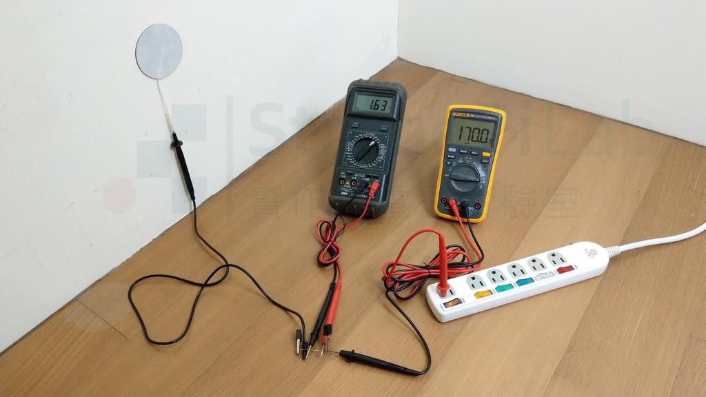 10k ohm負載產生的電流