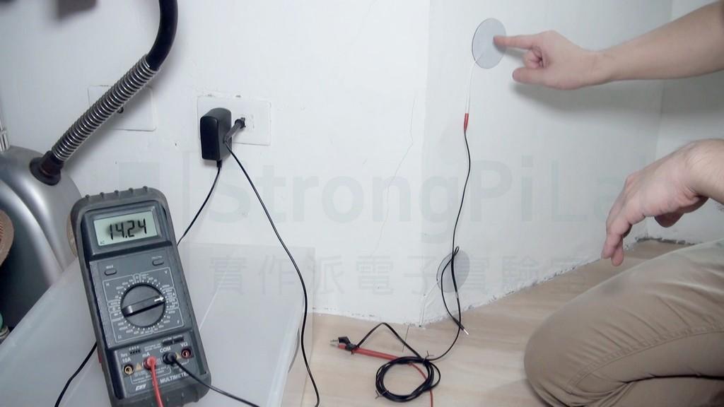 1k ohm負載產生的電流