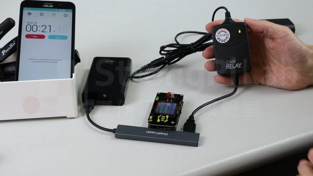 利用USB hub並聯一個小負載