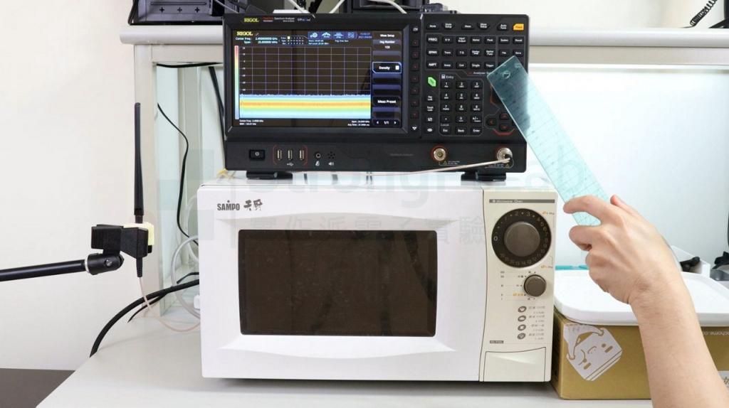 用頻譜測量實際的頻率
