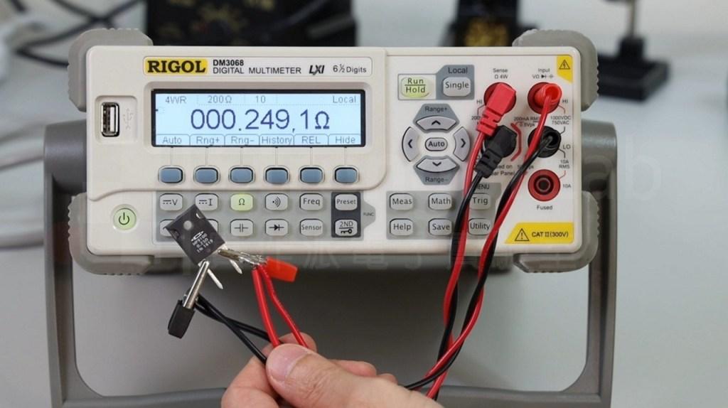 四線式測量小電阻較符合現況