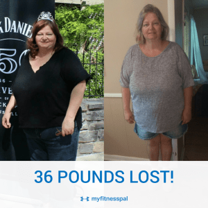 36 Pounds Total Lost August 25- August 28, 2017