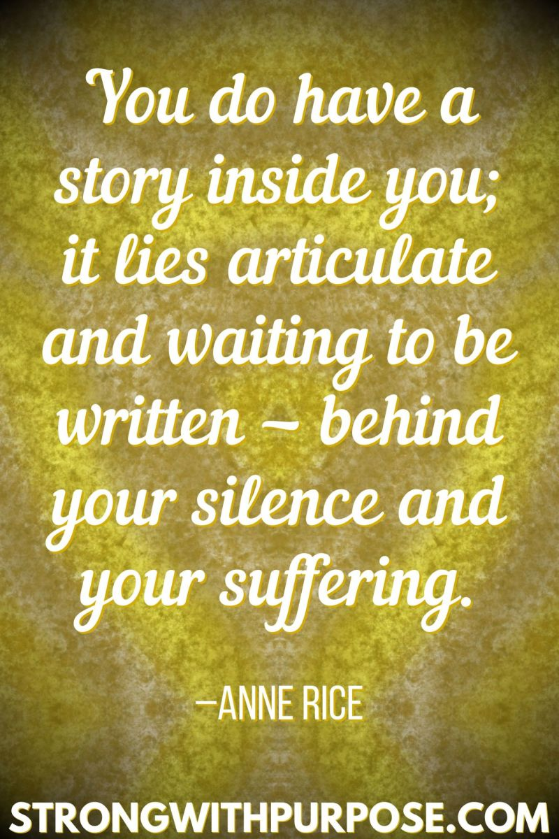 Have someone write your story