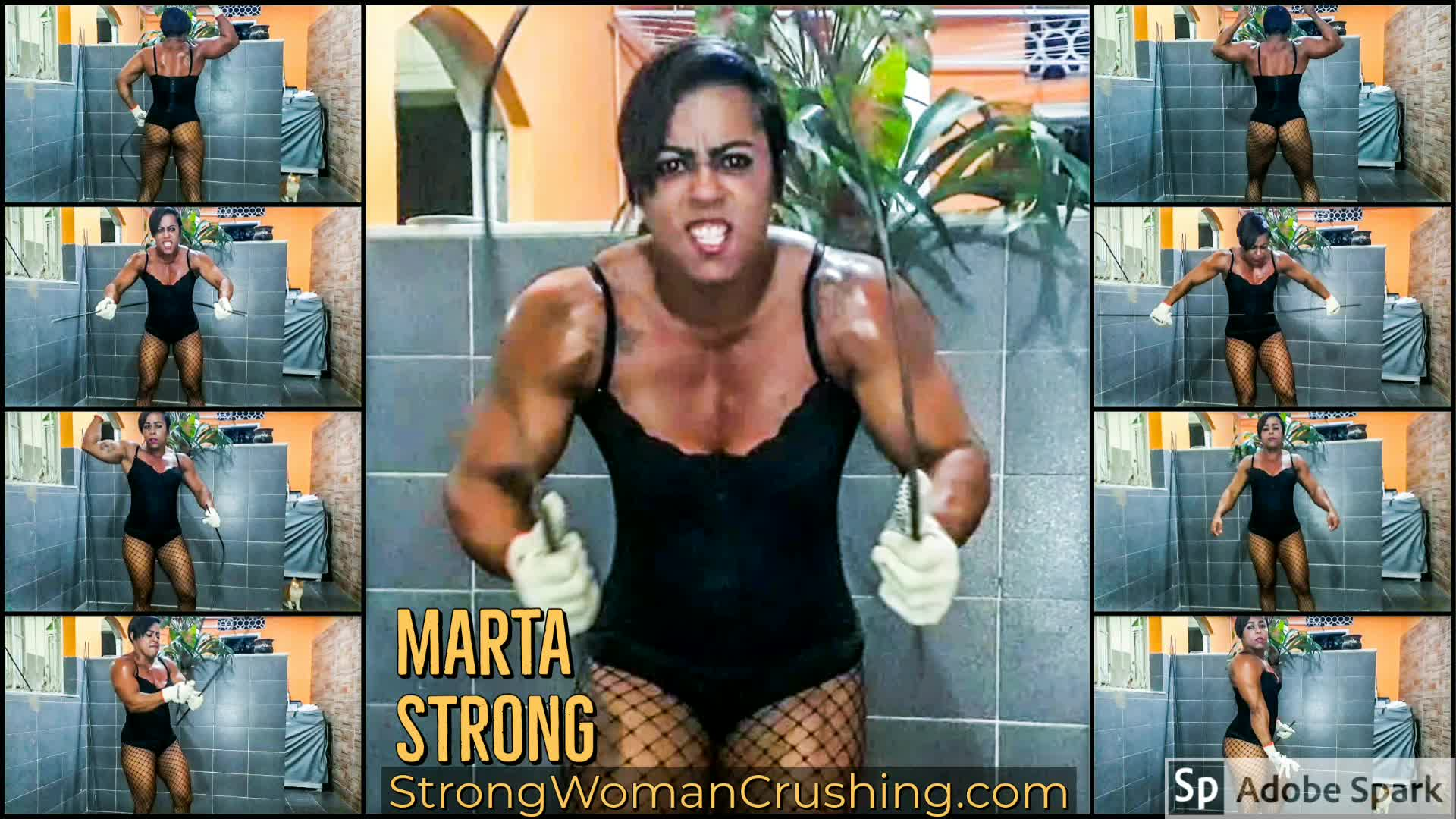 Marta strong metal bar bend