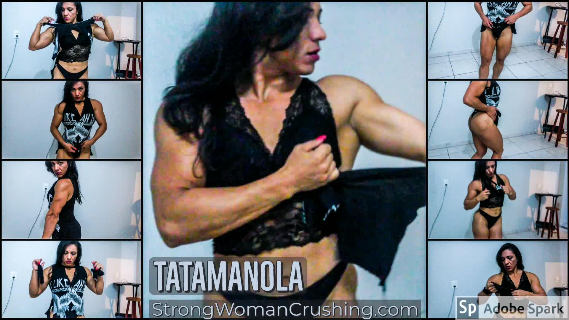 Tatamanola rips cloths