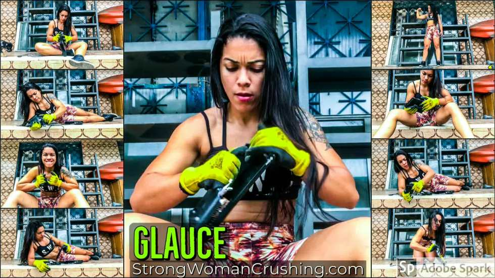 Glauce mini dvd trashed with muscles