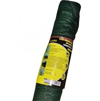 Plasa umbrire verde HDPE UV(50*2 m)