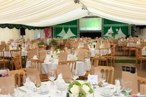 The marquee at the 2015 Stroud Life Business Awards