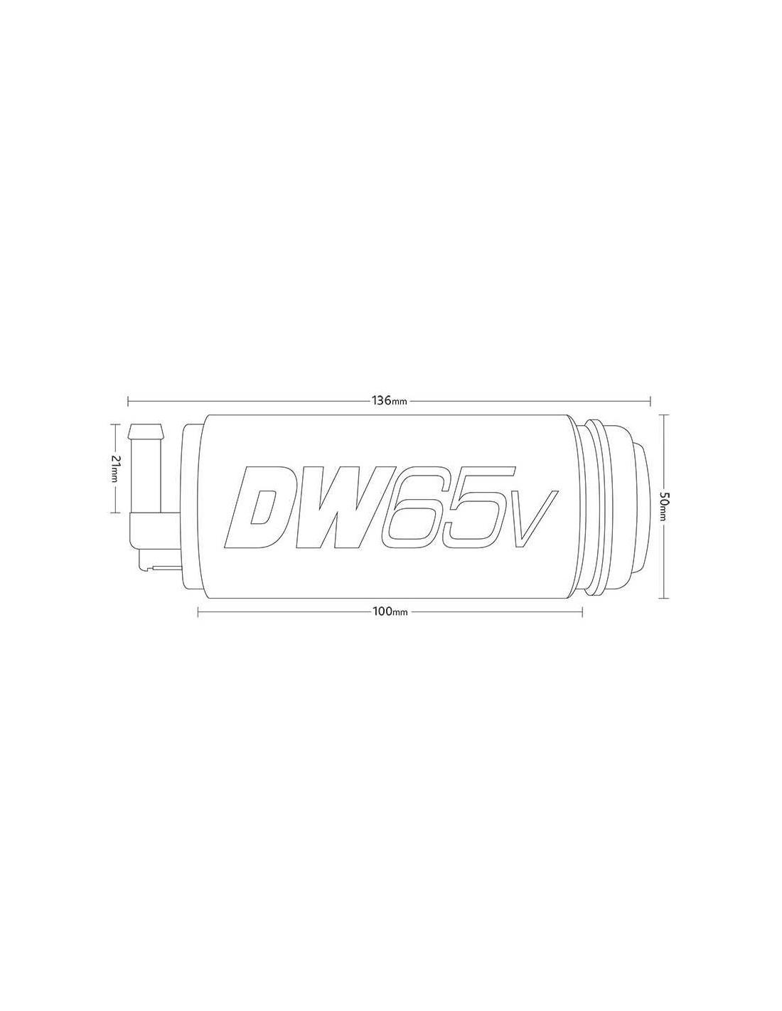 Pompe à Essence Ethanol Deatschwerks DW65v pour GOLF 4 R32