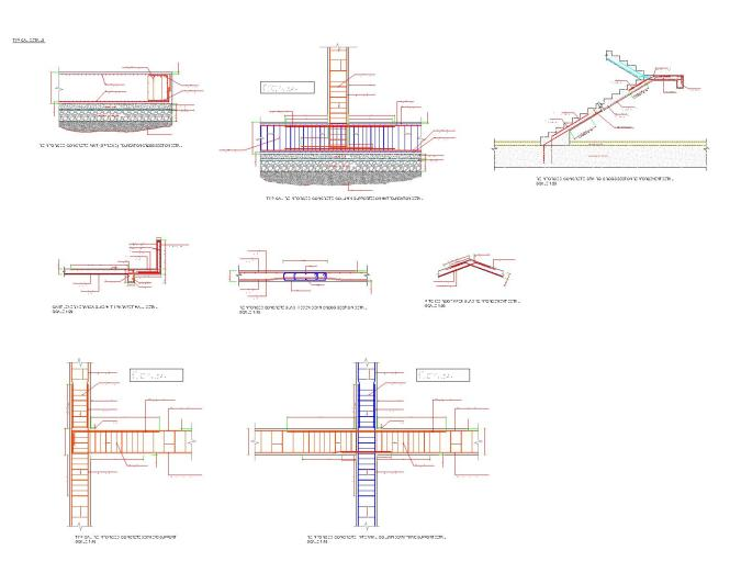 Reinforced Concrete Stair Design Example : Staircase Gallery