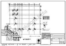 Steel Detailing Sample| Structure Steel Detailing Drawing