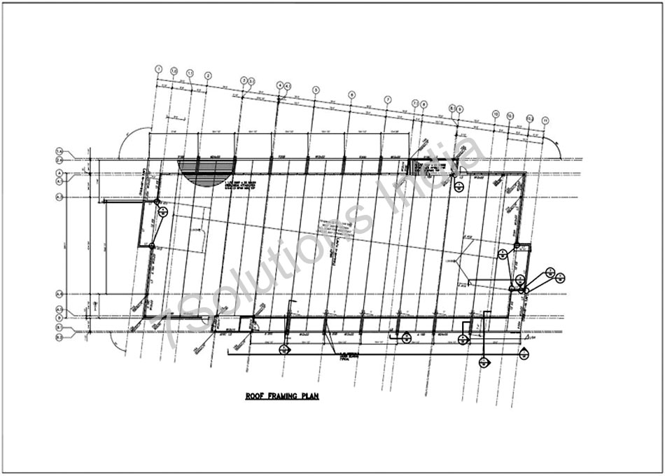Steel Detailing Sample| Structure Steel Detailing Drawing