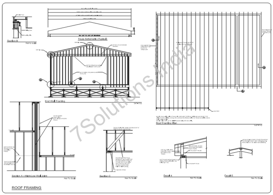 Structural Outsourcing Services-Drafting, Design