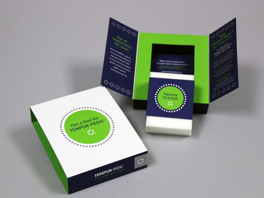 TempurPedic Sample Packaging  Structural Graphics