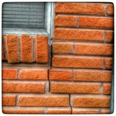 CRACKED BRICK