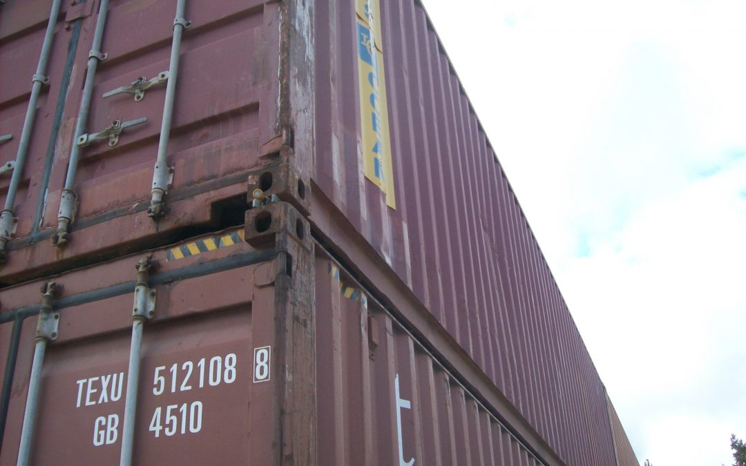 Designing A ShippingCargo Container Structure Precision