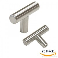 Probrico Euro Style T Bar Cabinet Pulls Stainless Steel ...