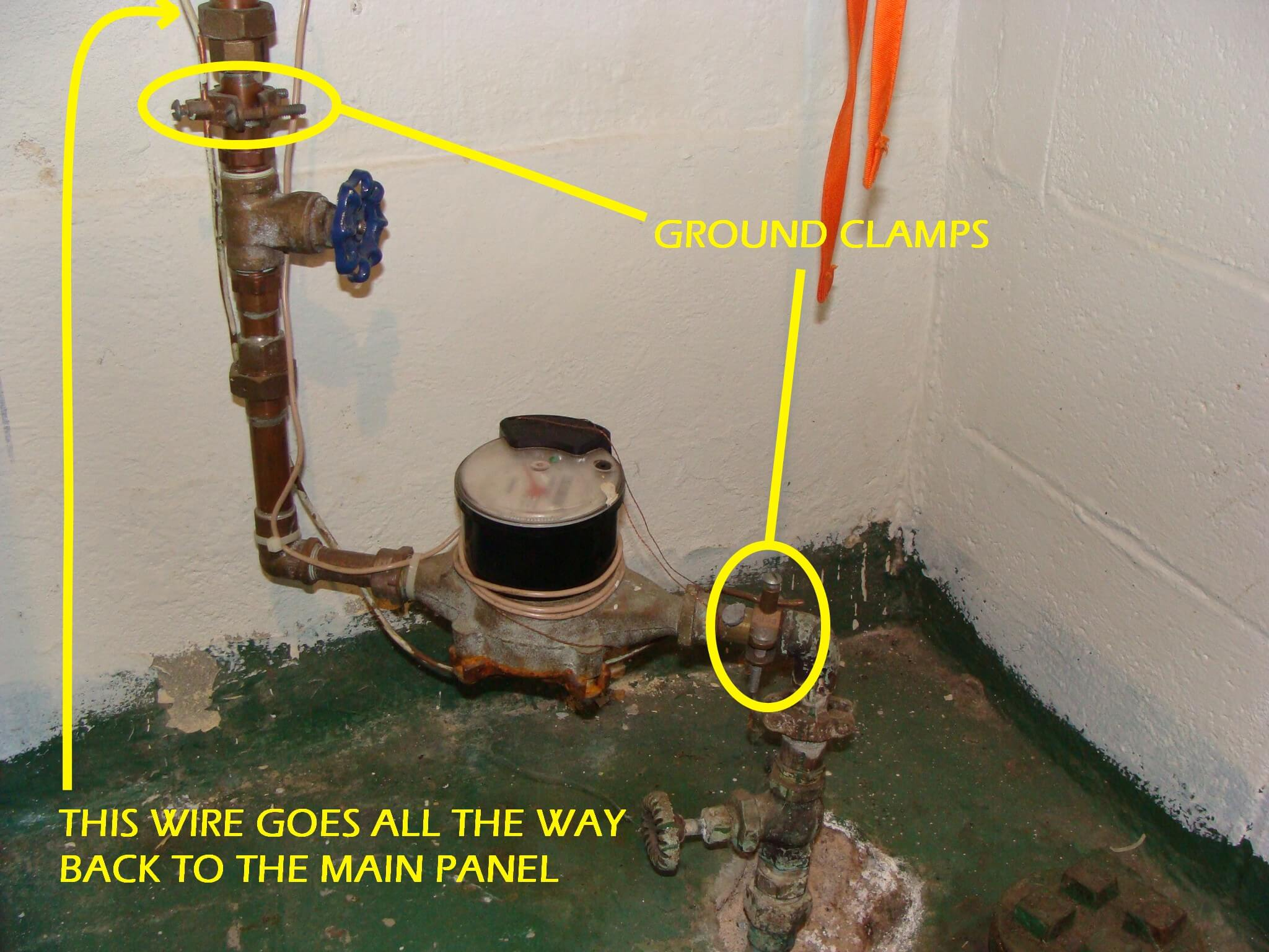 A Missing Jumper Wire At The Water Meter