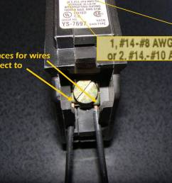 how to correct double tapped circuit breakers square d shunt trip breaker wiring square d breaker wiring [ 1650 x 1275 Pixel ]