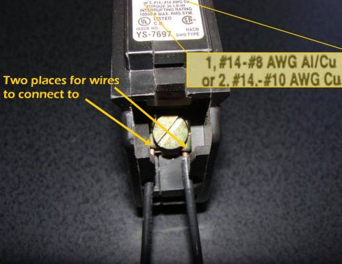 small resolution of double throw breaker wiring diagram