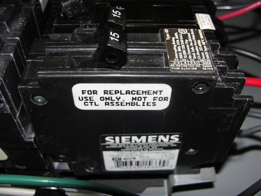 100 Amp Breaker Box Wiring Diagram Label How To Know When Tandem Circuit Breakers Can Be Used Aka