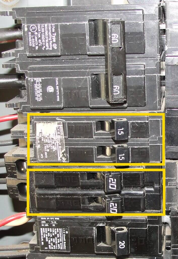 Dryer Schematic Diagram How To Know When Tandem Circuit Breakers Can Be Used Aka
