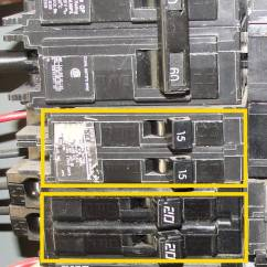 Double Outlet Wiring Diagram 93 Ford Ranger Radio Inspecting Tandem Circuit Breakers Aka Cheaters