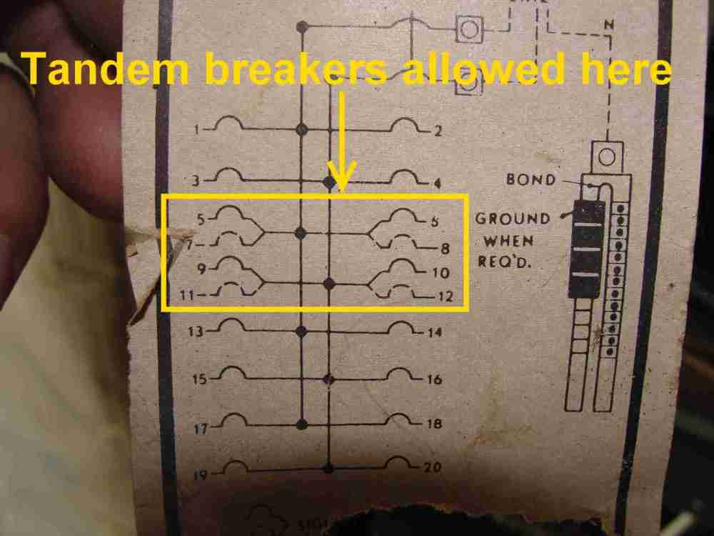 medium resolution of how to know when tandem circuit breakers can be used aka cheaterge breaker diagram