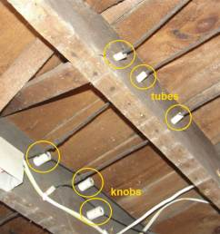 at best the remaining knob and tube wiring is in good condition and most of it has been replaced be aware however that many home insurance companies  [ 1440 x 1080 Pixel ]