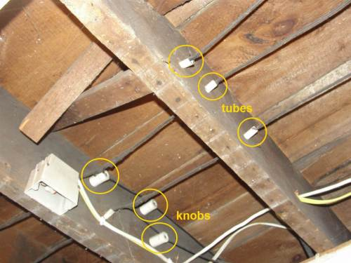 small resolution of at best the remaining knob and tube wiring is in good condition and most of it has been replaced be aware however that many home insurance companies