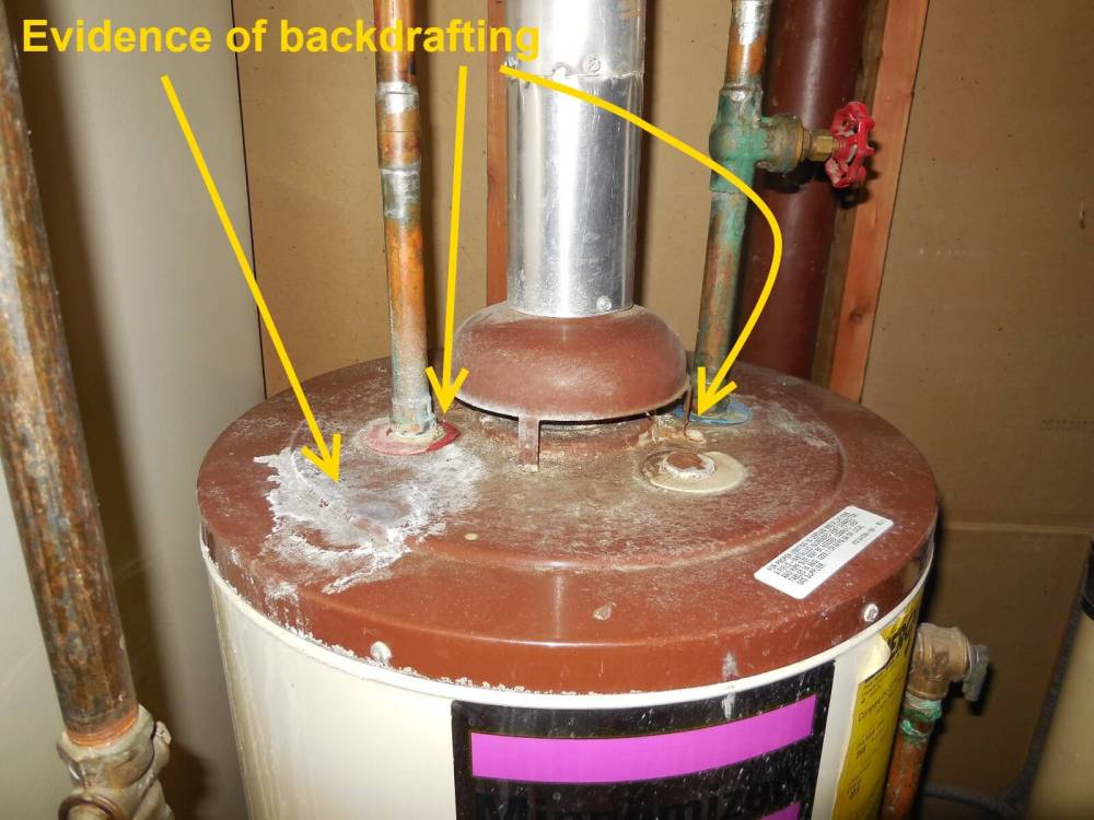 medium resolution of water heater backdrafting part 1 of 2 why it matters and what to look for