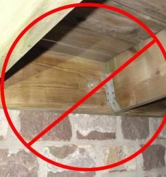 no deck attachment through stone veneer [ 1024 x 768 Pixel ]