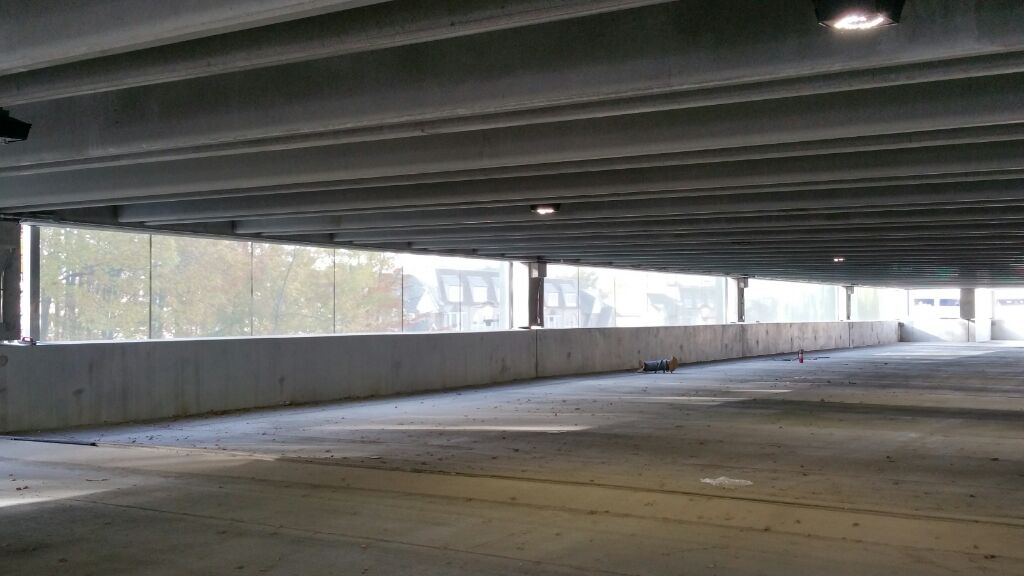 Crocker Park Parking Garage Interior Structurflex