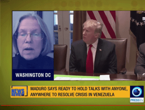 U.S. hands off Venezuela (video)