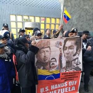 'Venezuela is our fight!'