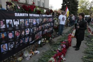 Five years after Odessa massacre, anti-fascists demand justice