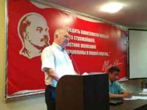 Hands off Boris Litvinov and the Communist Party of Donetsk People's Republic!