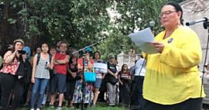 Indigenous leader: 'Authentic resistance' needed to close concentration camps