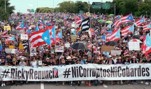 Declaration of solidarity with the people of Puerto Rico