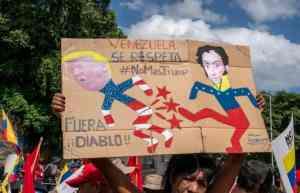 Blockade Trump not Venezuela