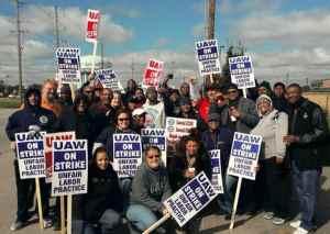 Auto strikers say no more tiers