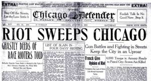 The long shadow of the 1919 Chicago race riot