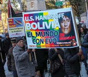 U.S. groups denounce brutal repression in Bolivia