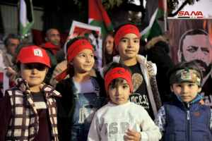 From Damascus to New York, solidarity with imprisoned Palestinians