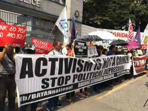 Stop state fascism in the Philippines!