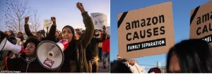 Protest at Baltimore Amazon Warehouse on Cyber Monday